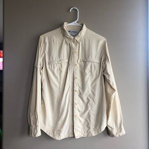 Columbia grt button up vented shirt